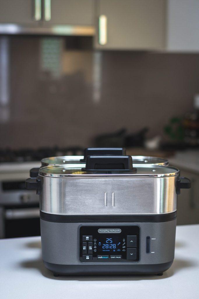 Morphy Richards Intellisteam (Food Steamer) - thespiceadventuress.com