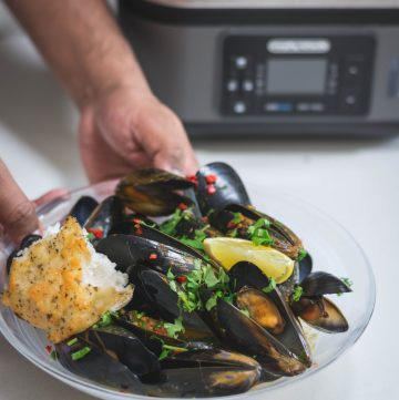 Morphy Richards Intellisteam (Food Steamer) + Recipe for Steamed Mussels with Thai Yellow Curry Paste